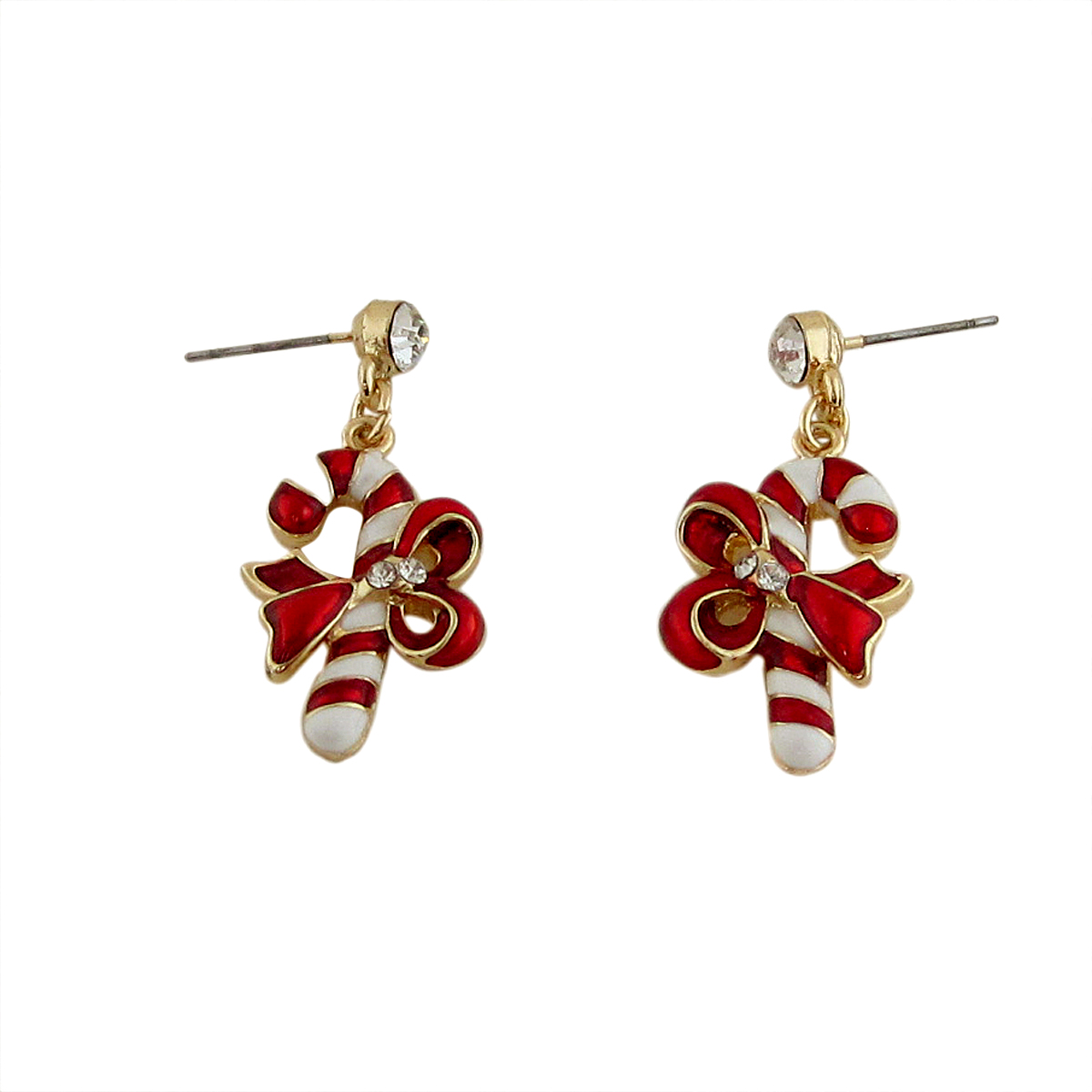 And Of Course, Whats The Holidays Season Without Some Yummy Candy Canes?! Candy  Cane Earrings That Is! We All Look Forward To The Holidays,